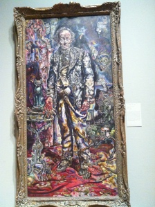 """Picture of Dorian Gray"" by Ivan Albright. Oil on Canvas. On display at the Art Institute, Chicago, IL."